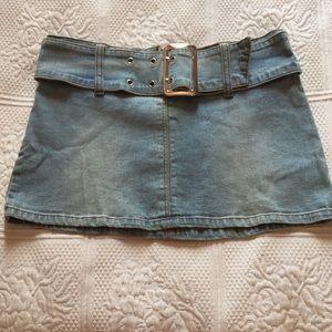 XOXO jeans skirt